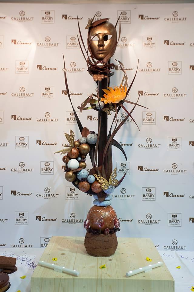Best chocolate showpiece - Mickael Lysakowski