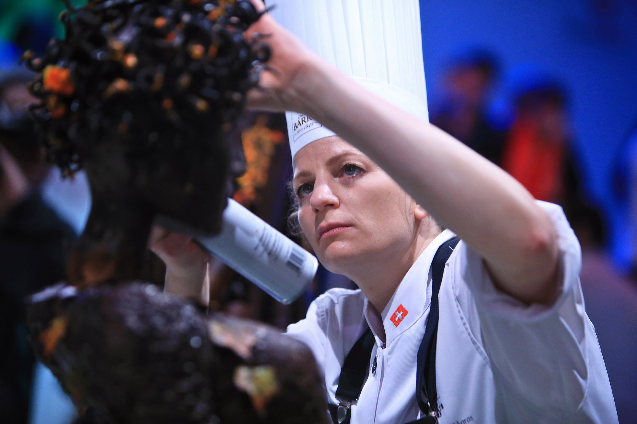 FRANCE PARIS MAISON CAILLER WORLD CHOCOLATE MASTERS 2015