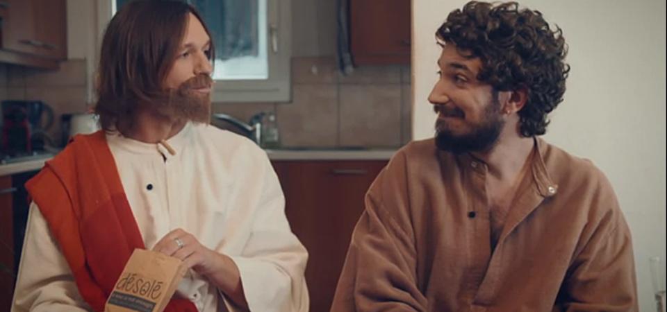Jésus Christ et Judas fans des chocolat désolé