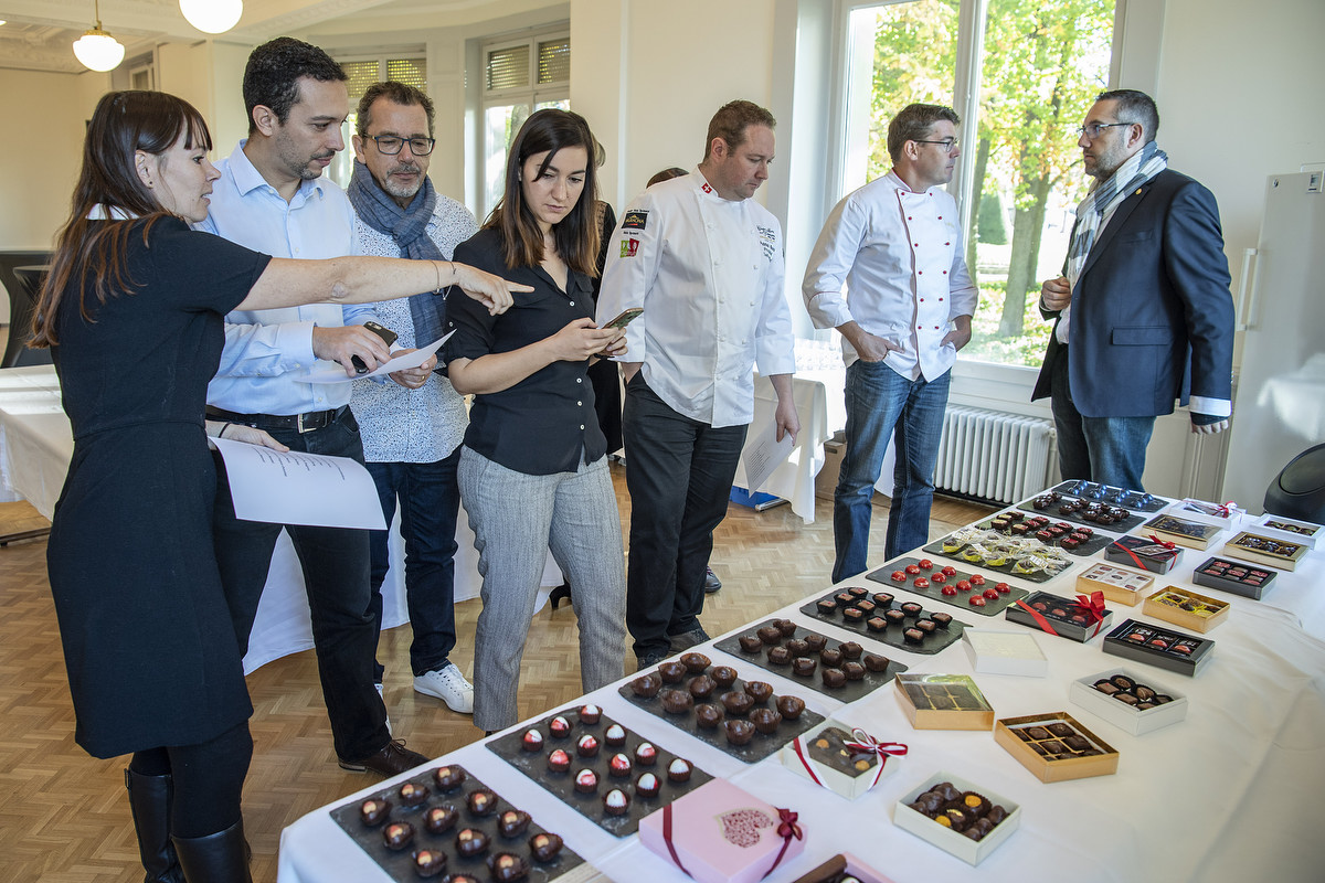 Selection des creations des chocolatiers lausannois